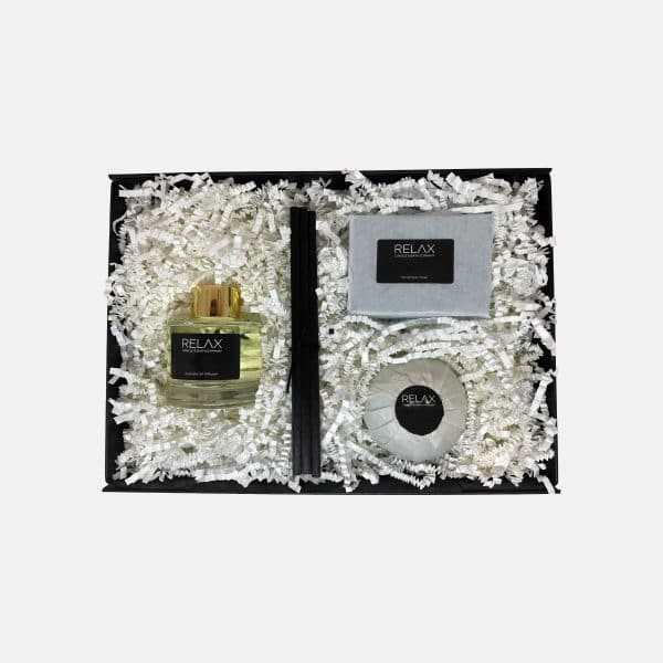 Scented reed diffuser large set of three bathroom set